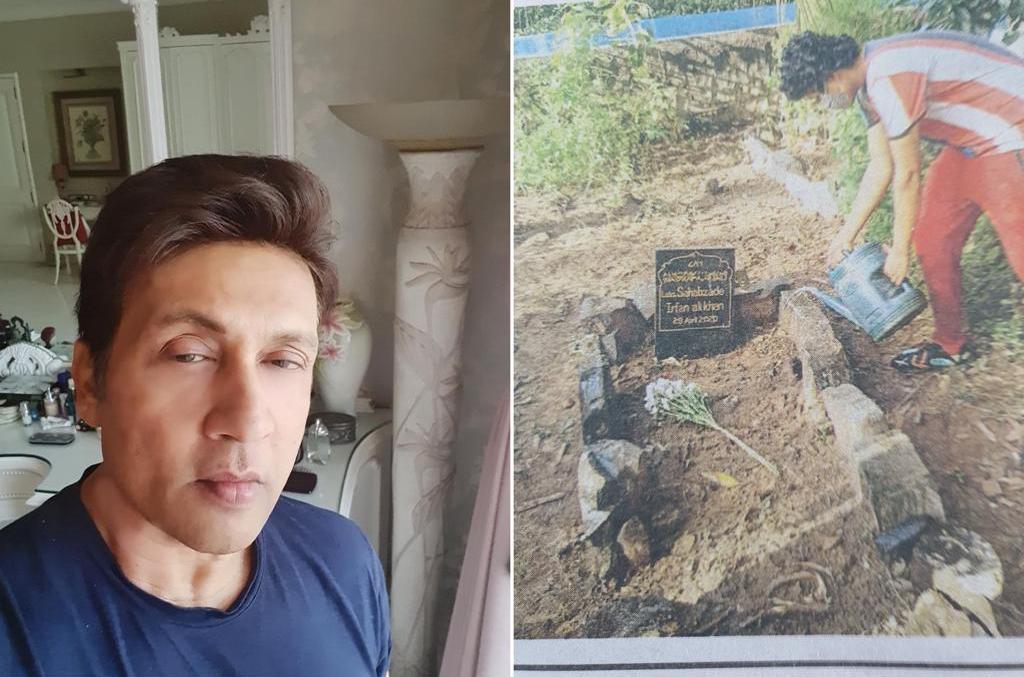 Shekhar Suman feels Irrfan Khan's grave is 'unkempt', suggests marble covering