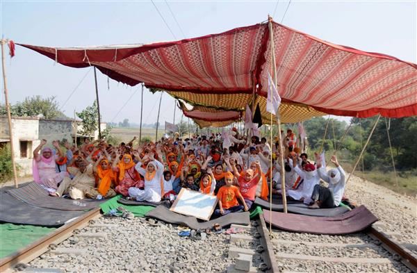 Farmer dies during protest over farm laws in Mansa