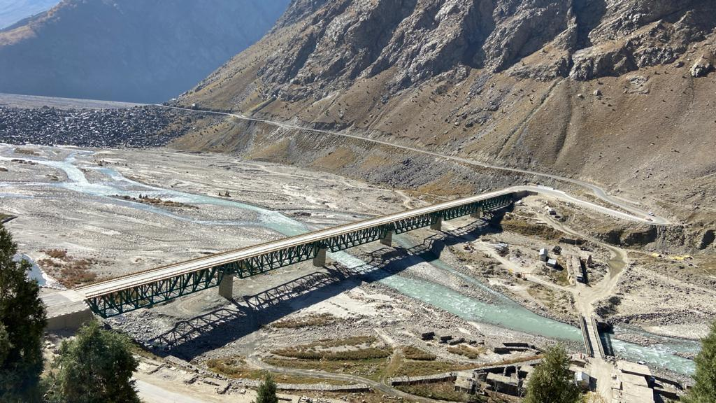 Known as Barsi Bridge, it is the second longest bridge of its kind in the country after the Col Chewang Rinchen Setu across Shyok river on route to the world's highest landing ground at Daulat Beg Oldie in Ladakh