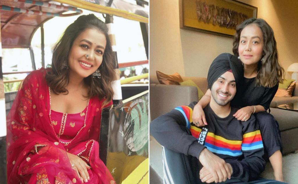 Neha Kakkar drops 'hints' of marriage in her 'Punjabi kudi' look on Instagram; Rohanpreet Singh has the sweetest reply