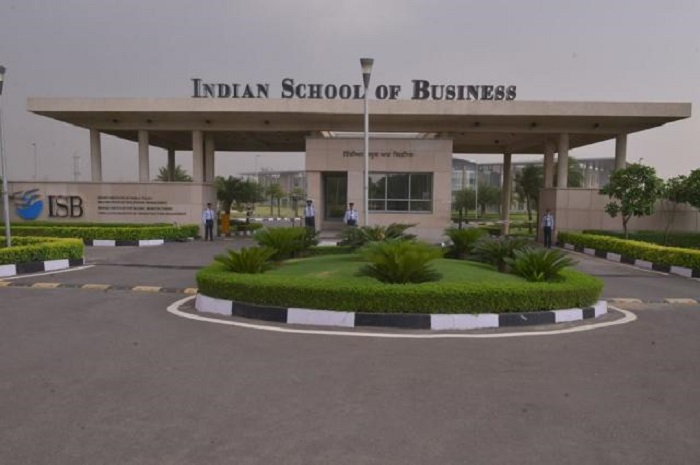 ISB's PG course No. 1 in India, 53rd globally