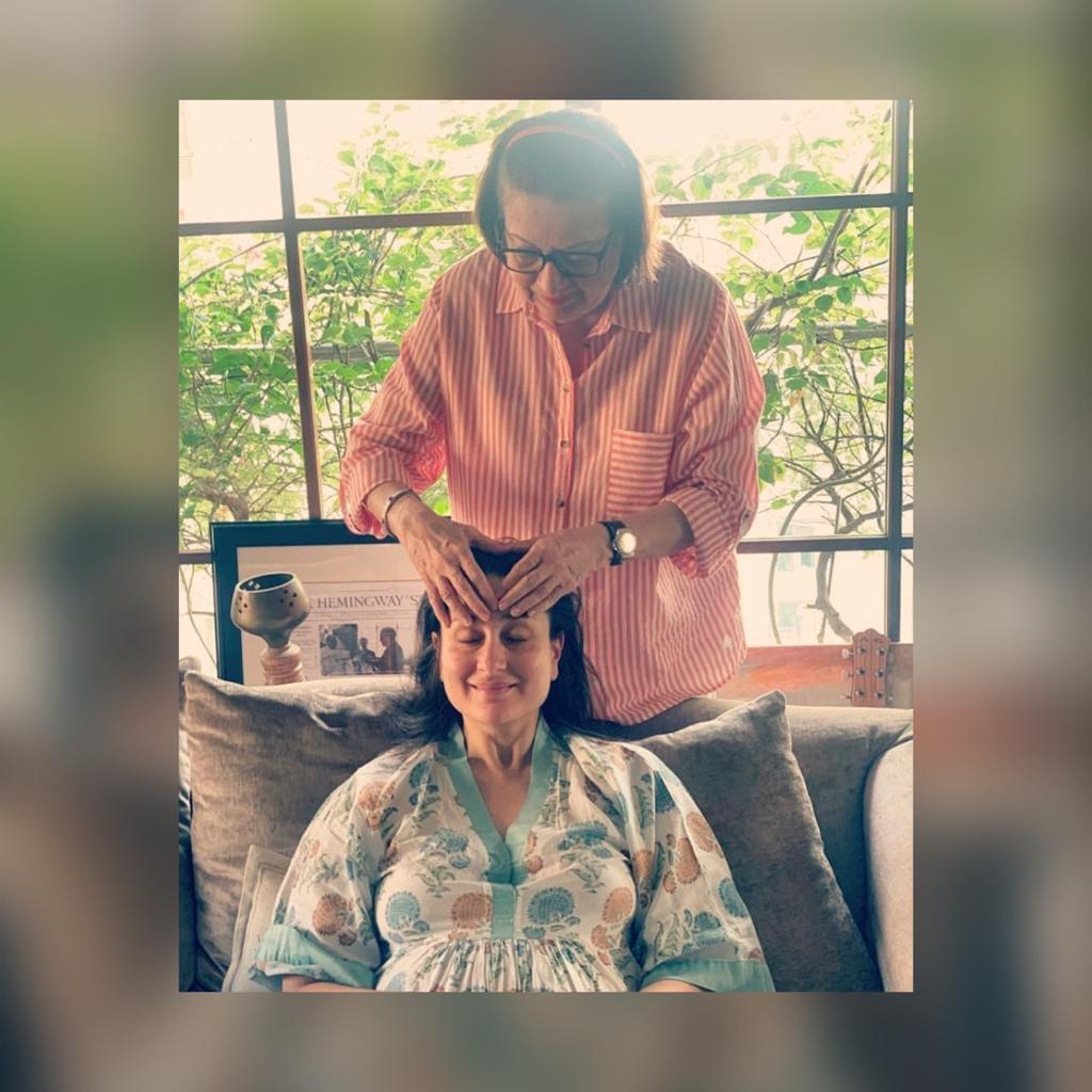 Pregnant Kareena Kapoor Khan gets 'Maa ke haath ka, maalish' from mommy Babita; check out the cute post
