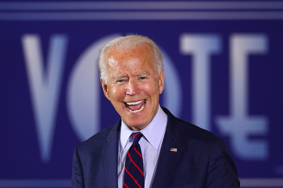 Indian-American couple releases digital graphics campaign supporting Biden