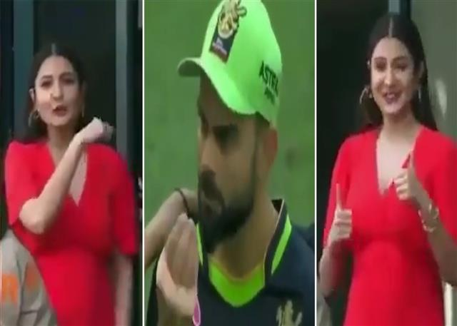'Eaten food'? Virat Kohli's cute conversation with Anushka Sharma during IPL match goes viral; watch video