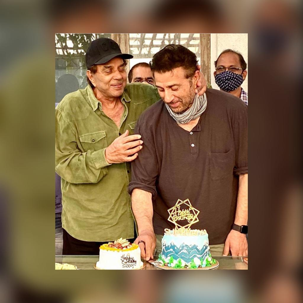 Sunny Deol celebrates birthday with Dharmendra and Bobby; pictures go viral