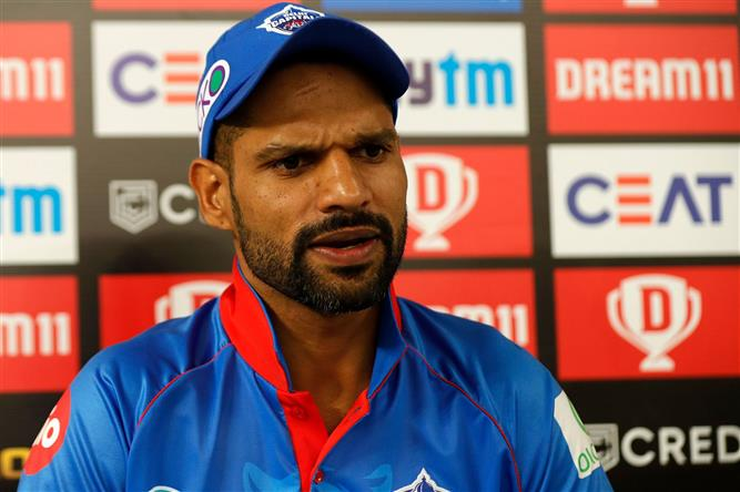 Shreyas is in pain but is able to move his shoulder: Shikhar Dhawan