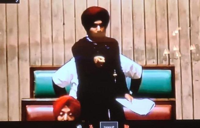 Punjab Vidhan Sabha session's live telecast stops the moment Navjot Sidhu begins his speech