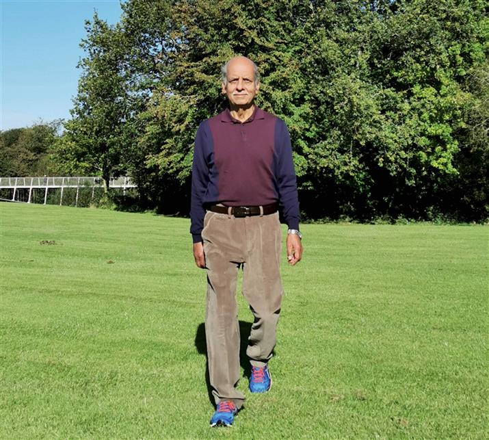 Punjab-born Irish man eyes Guinness record for 'walking the earth'