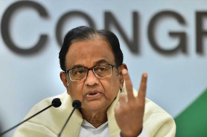 Chidambaram cites Biden's 'unity over division' remark, urges voters in Bihar, MP to take similar vow