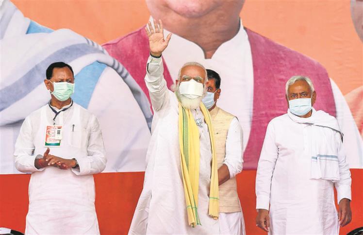 In Bihar, PM Modi targets Punjab: MSP an excuse to shield brokers