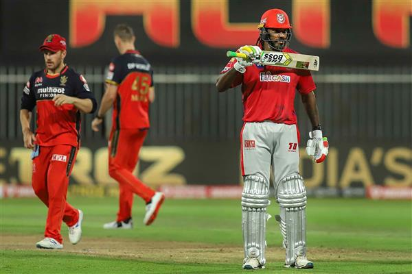 KXIP finally find a way to win after Gayle and Rahul's six-hitting competition