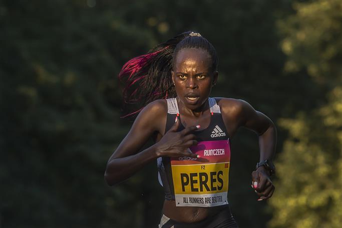 Kenya's Jepchirchir sets world mark in women's half marathon