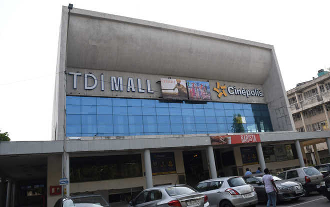 Chandigarh's TDI Mall Jagat served Rs 58L tax notice