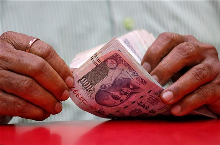 Rupee falls by 23 paise to 4-week low on fresh COVID-19 scare