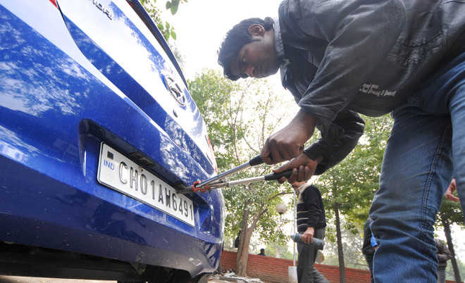 Chandigarh Transport Department to e-auction fancy numbers of CH01-CC series from November 7
