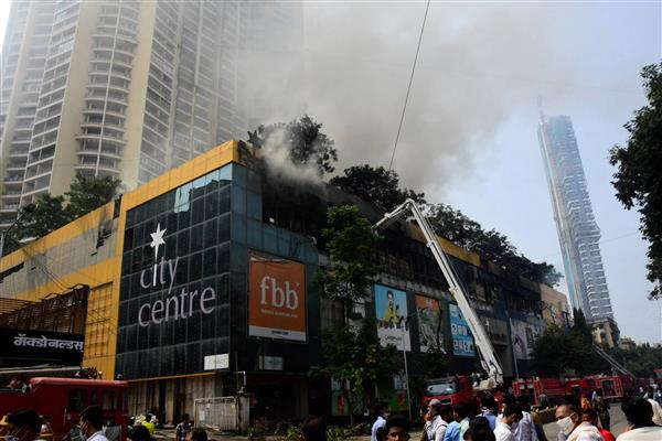 Blaze at Mumbai's City Centre Mall doused after 56 hours