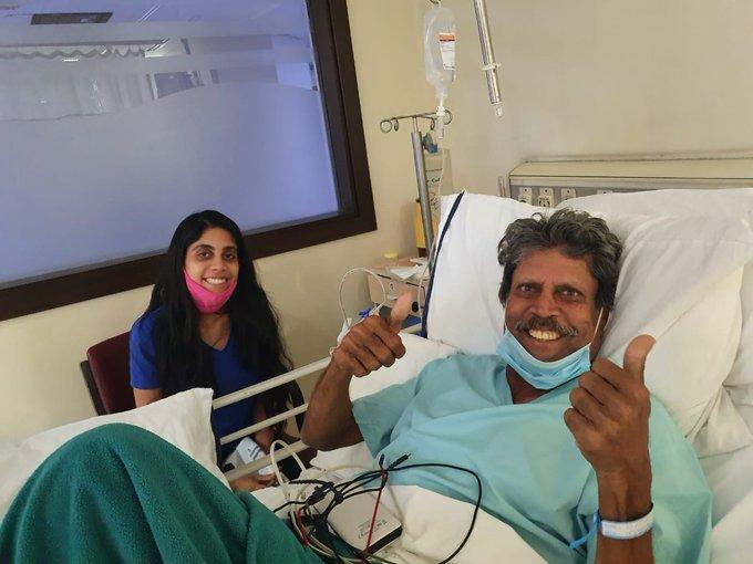 Chetan Sharma shares picture of Kapil Dev, says 'Pa ji is OK now'