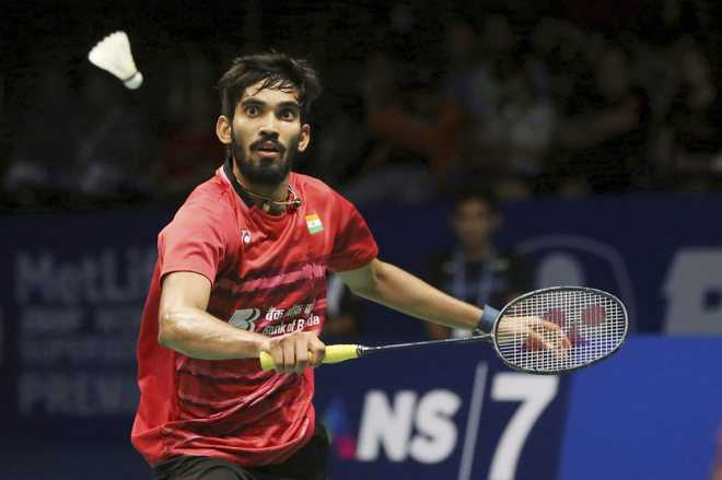 Srikanth out of Denmark Open, Indian campaign ends