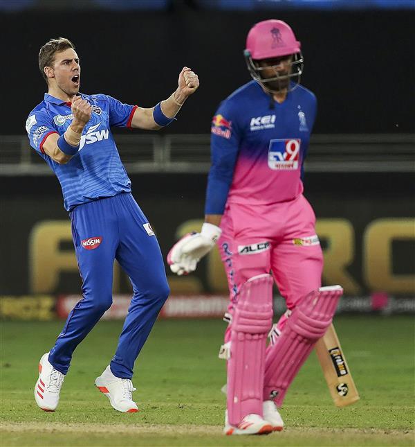 Delhi Capitals' Anrich Nortje bowls fastest ball in IPL history