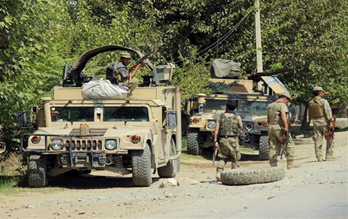 Suicide bomber kills 9 at checkpoint in south Afghanistan
