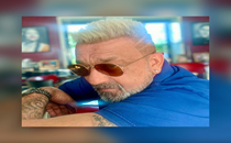 Sanjay Dutt rocks platinum blonde hairdo; have a look