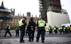 18 arrests as police officers hurt in London's anti-lockdown protests