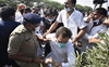 Rahul, Priyanka detained on way to Hathras to meet gang-rape victim's family