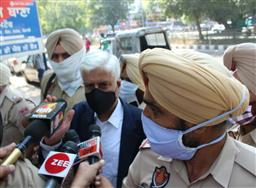 Punjab ex-DGP Sumedh Saini appears before SIT at Mohali in Multani case
