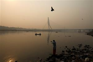 Delhi's air quality borders 'severe' category