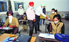 Patiala schools record 30% attendance post-reopening