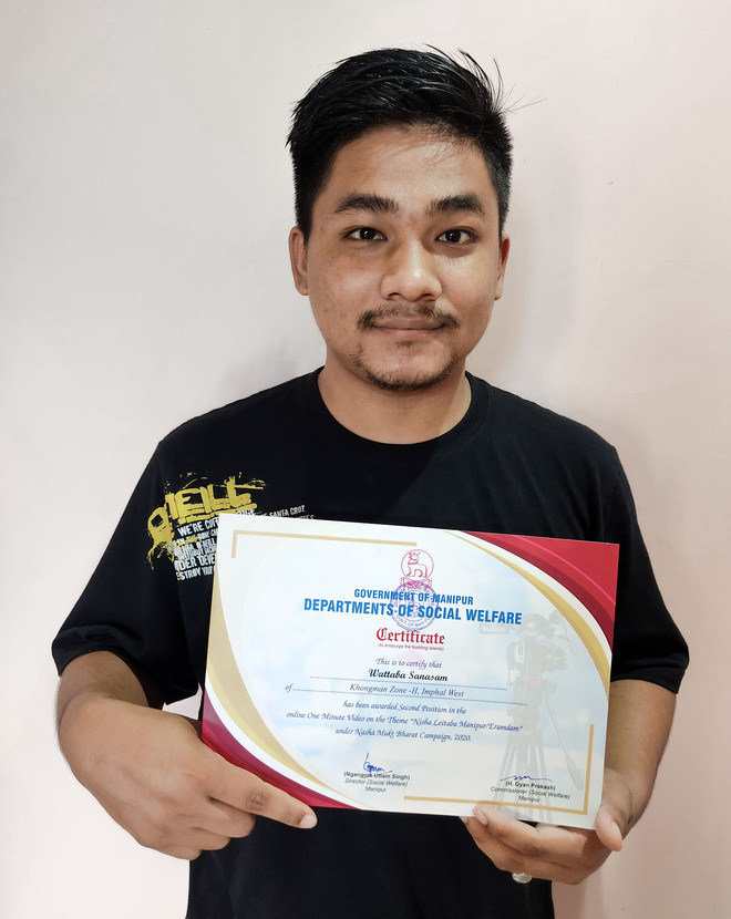 LPU student wins laurels for film on drug-free India