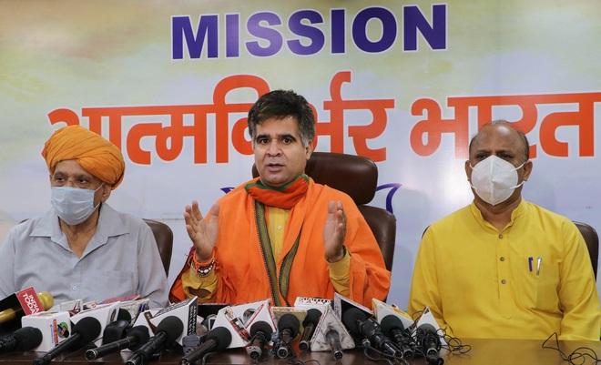 Chidambaram toeing Pakistan line: J&K BJP President Ravinder Raina