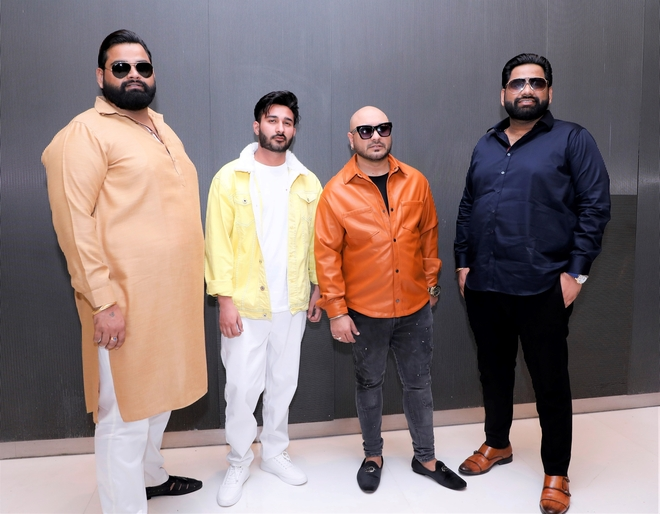 Punjabi stars attend the poster launch event of Kaka's Bholenath