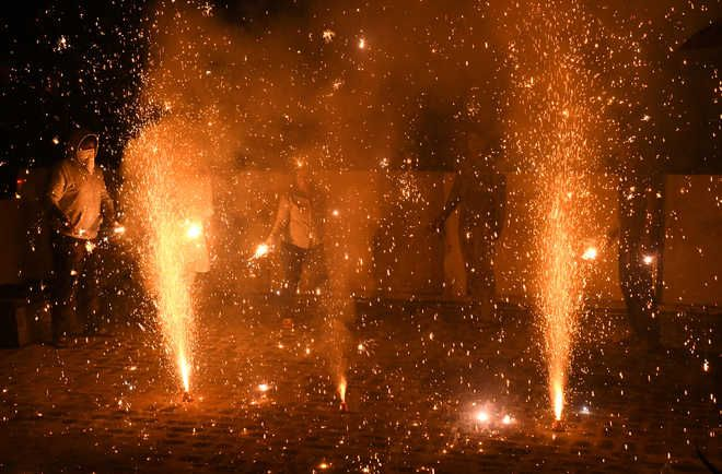 Burst crackers from 8 to 10 pm on Diwali