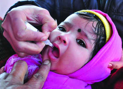 Take precautions while administering polio drops, residents told
