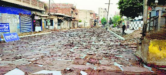 Authorities stretched as progress of Batala roads hit