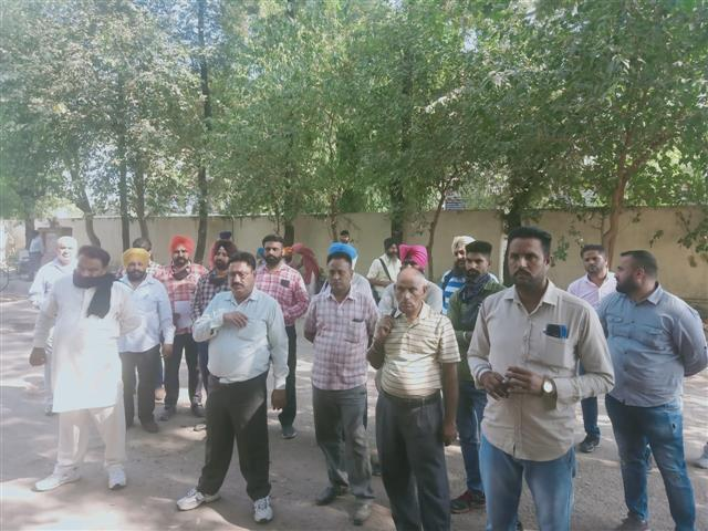 Roadways staff hold gate rally, seek job regularisation