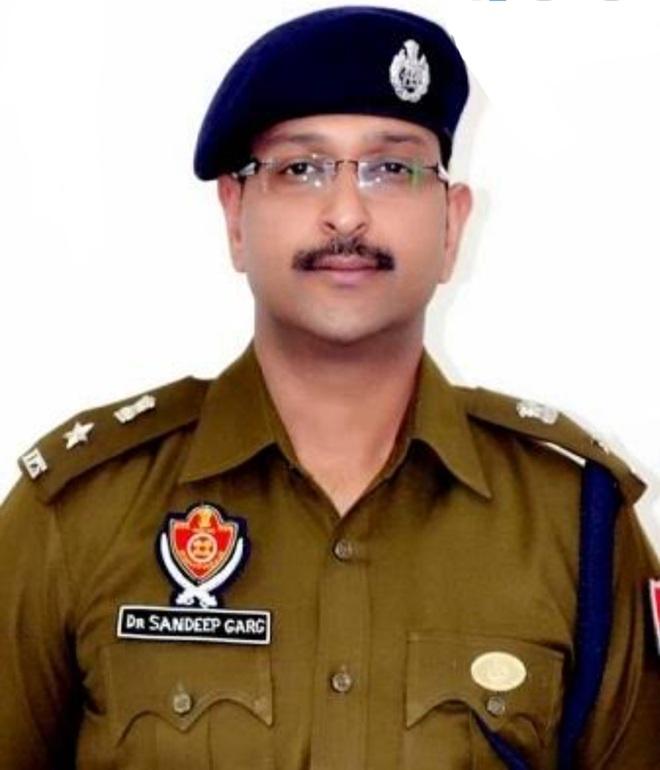 Sandeep Garg is SSP (Rural)