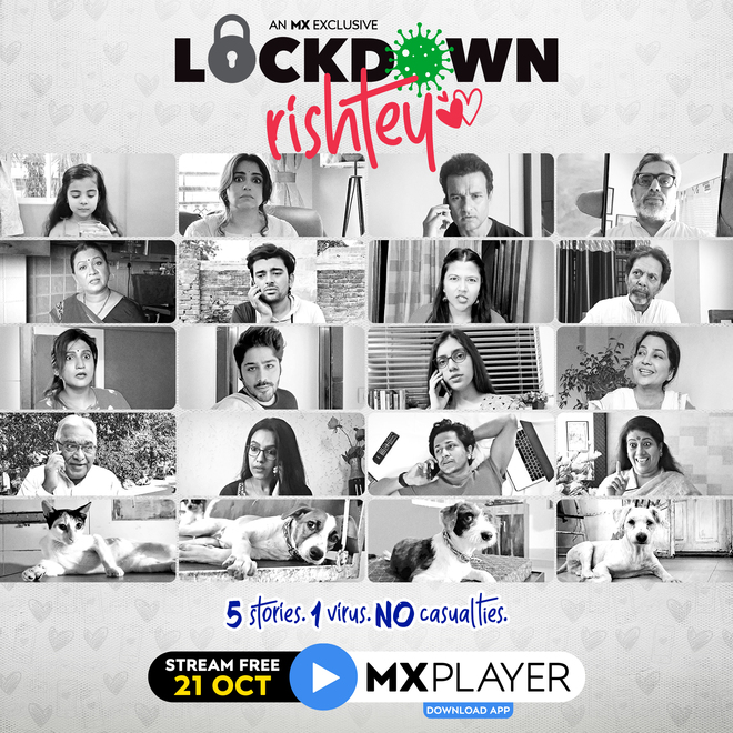 The show Lockdown Rishtey offers a mélange of five stories