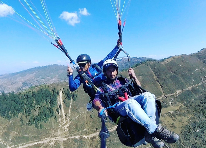 Paragliding site to come up in Mandi