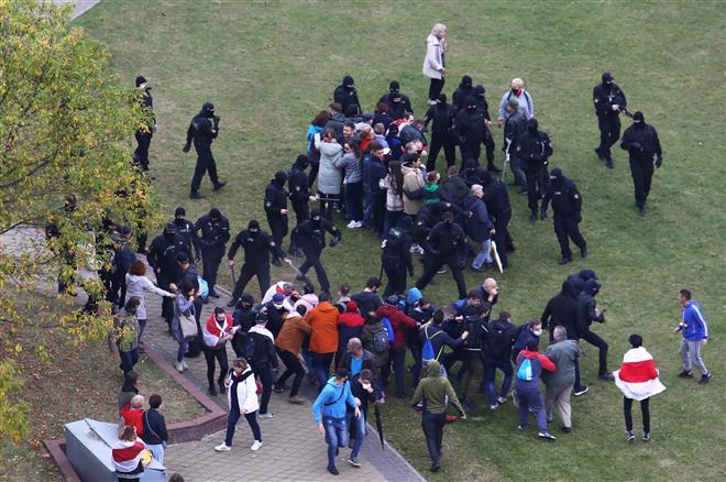 Belarus stir unabated, several face detention