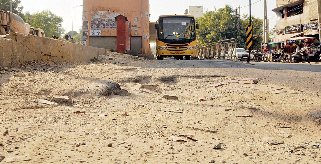 List of works to be done on BRTS lanes is a long one