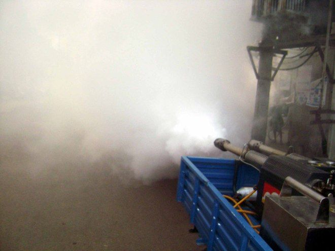 Mayor finds irregularities in fogging service, orders action against staff