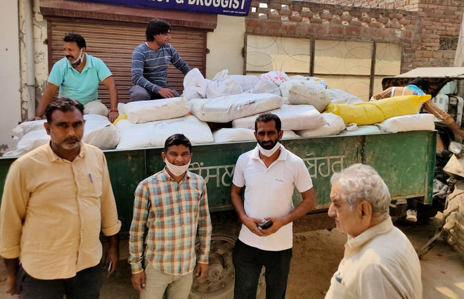 122 qtl polybags seized in Amritsar