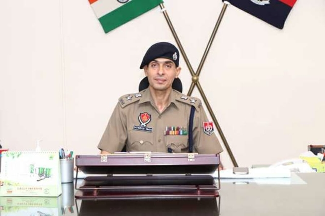 New Mohali SSP takes charge