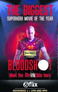 Vin Diesel's Bloodshot set for TV premiere