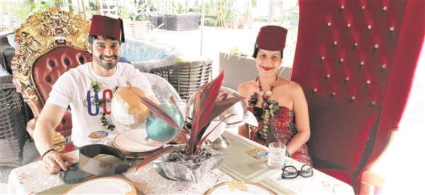 Vijayendra gets birthday surprise from wife