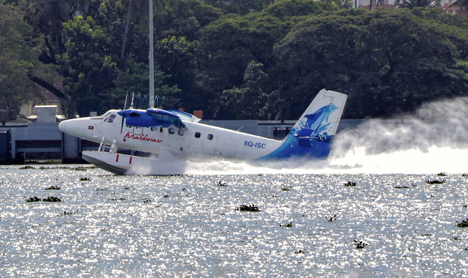 A first: Seaplane service from October 31