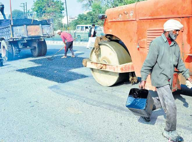 Patiala road re-carpeting to start soon