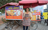 Jalandhar's first bike-taxi driver Kanta Chauhan now sells paranthas to stay afloat